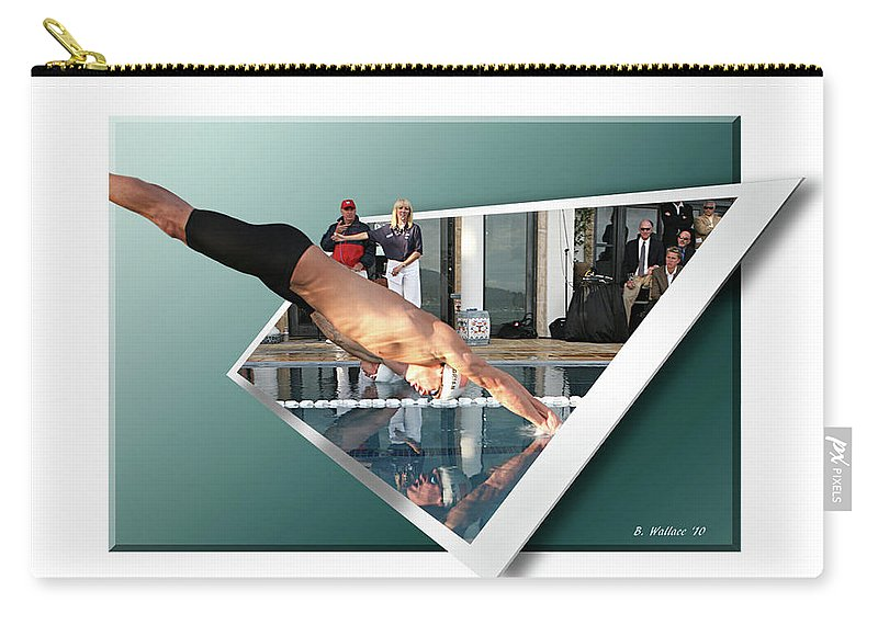2d Carry-all Pouch featuring the photograph Get Ready Get Set by Brian Wallace