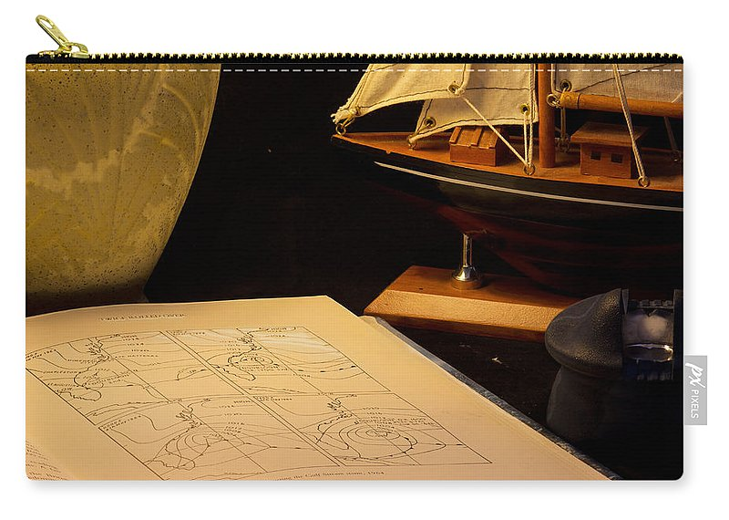 Nautical Carry-all Pouch featuring the photograph Getting Ready by Brian Roscorla