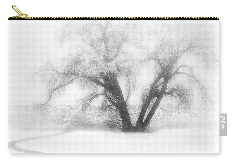 Tree Carry-all Pouch featuring the photograph Getting There by Marilyn Hunt