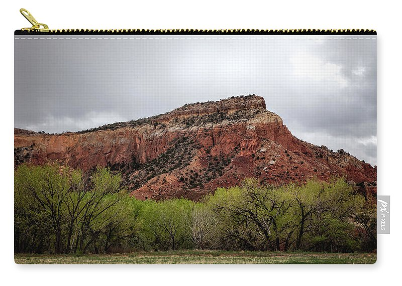 Abiquiu Carry-all Pouch featuring the photograph Ghost Ranch View by Diana Powell