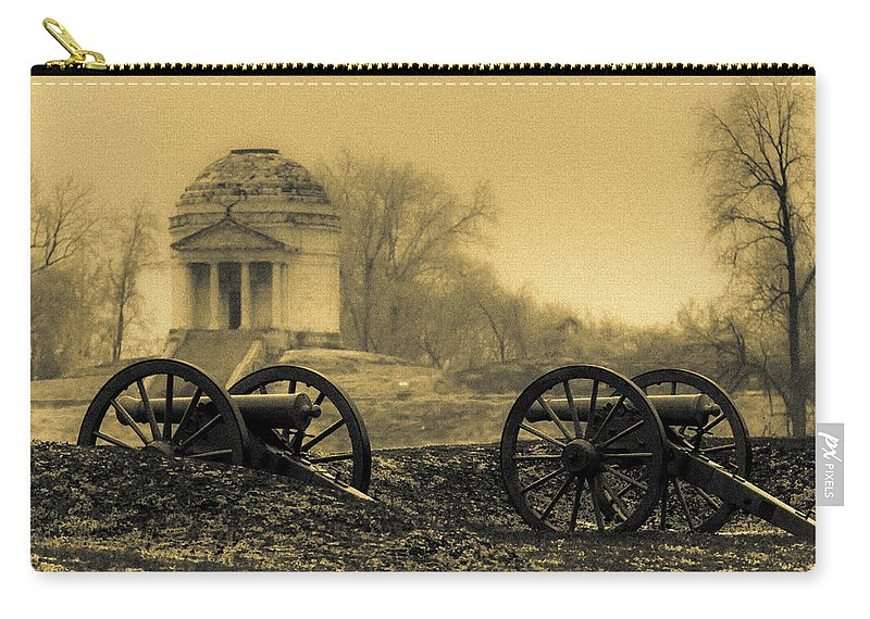 Civil War Carry-all Pouch featuring the photograph Ghosts Of Vicksburg by Kevin Esterline