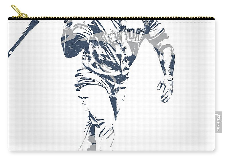 03c963c5a24 Giancarlo Stanton Carry-all Pouch featuring the mixed media Giancarlo  Stanton New York Yankees Pixel