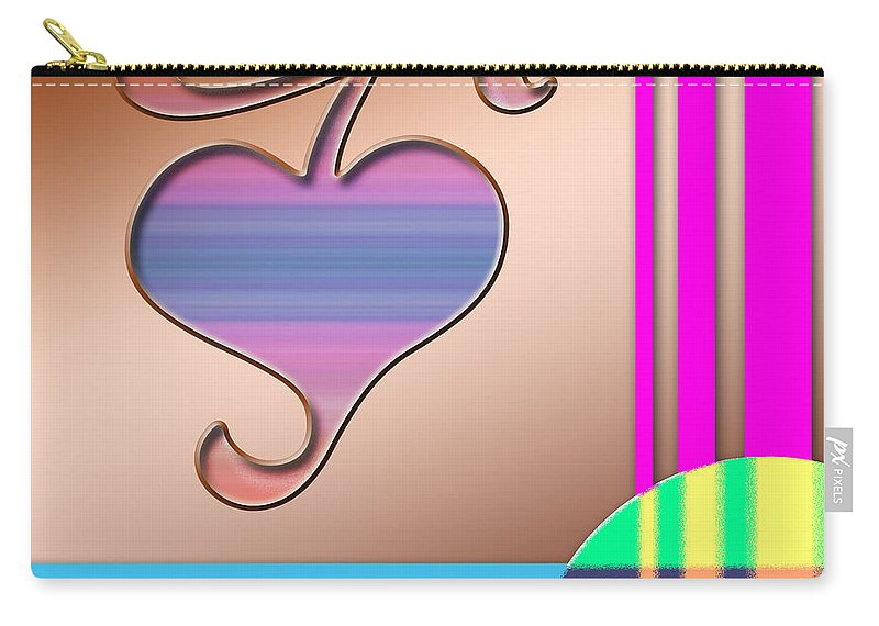 Clay Carry-all Pouch featuring the digital art Gift Of Love by Clayton Bruster