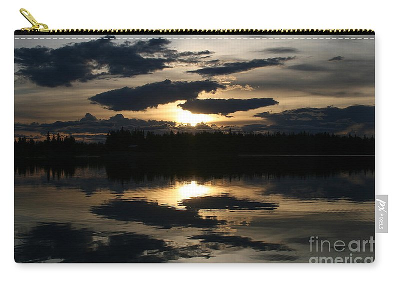 Chena Lakes Carry-all Pouch featuring the photograph Gifts Of The Heart by Sharon Mau