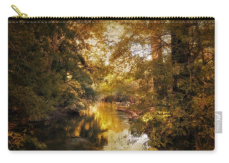 Nature Carry-all Pouch featuring the photograph Gilded by Jessica Jenney