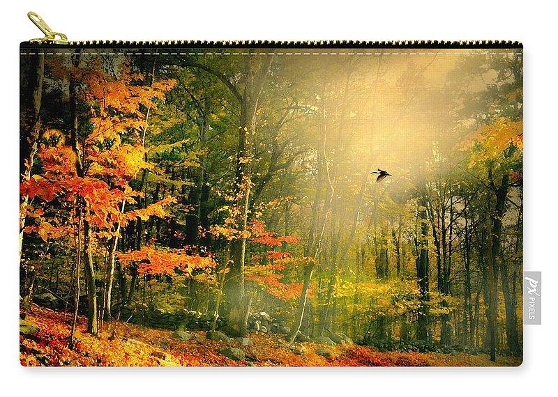 Giorno E Finito Carry-all Pouch featuring the photograph Giorno E Finito by Diana Angstadt