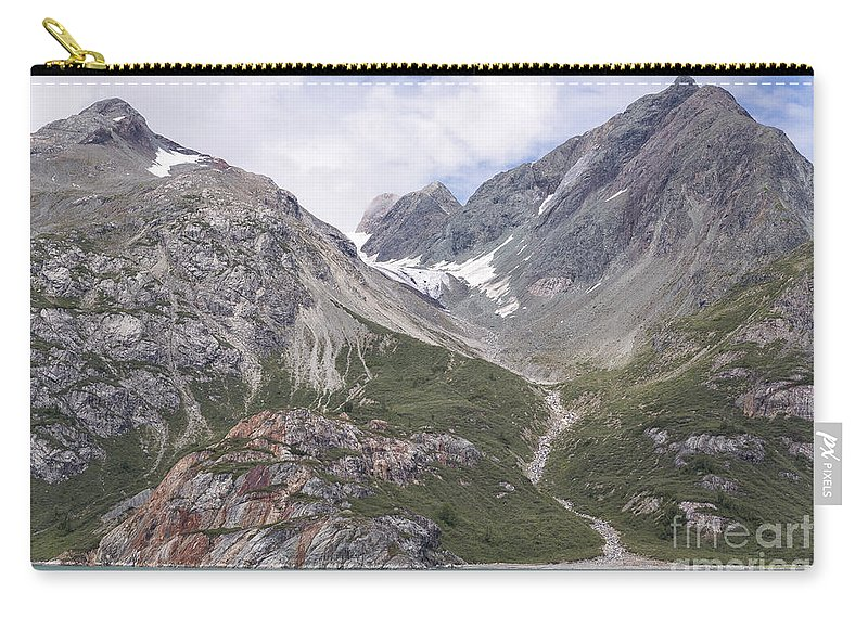Alaska Carry-all Pouch featuring the photograph Glaciated Valley by Richard Sandford