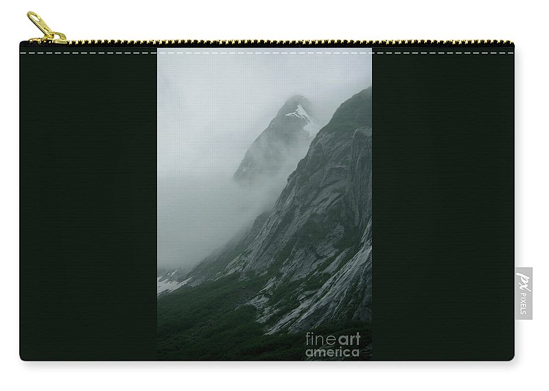 Alaska Carry-all Pouch featuring the photograph Glacier-carved Mountainside Alaska by Rick Bures