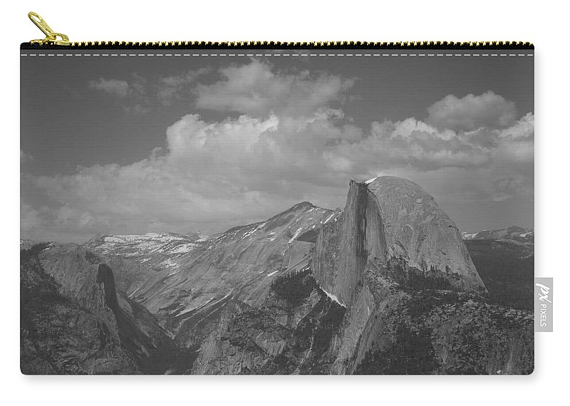 Half Dome Carry-all Pouch featuring the photograph Glacier Point by Travis Day