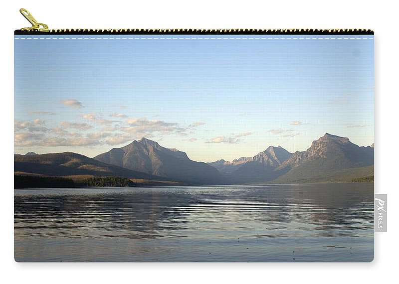 Carry-all Pouch featuring the photograph Glacier Reflections 3 by Marty Koch
