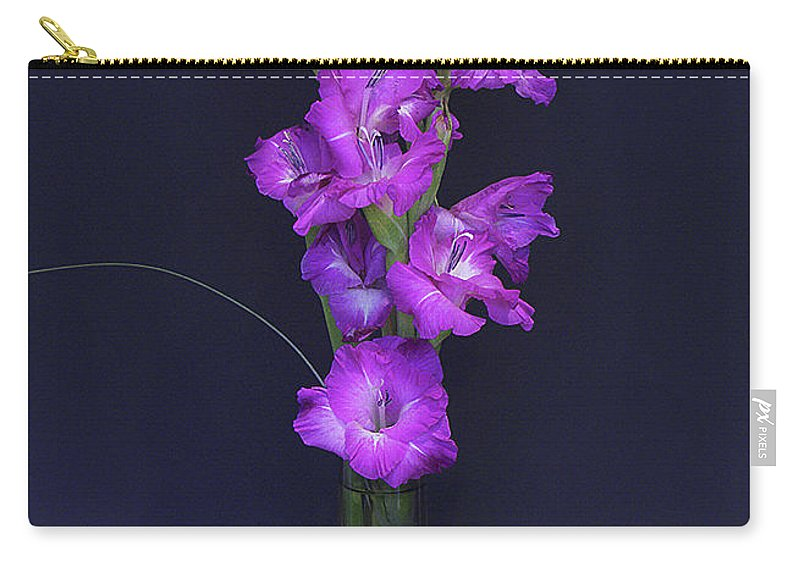 Floral Carry-all Pouch featuring the photograph Gladiolus by Brian Roscorla