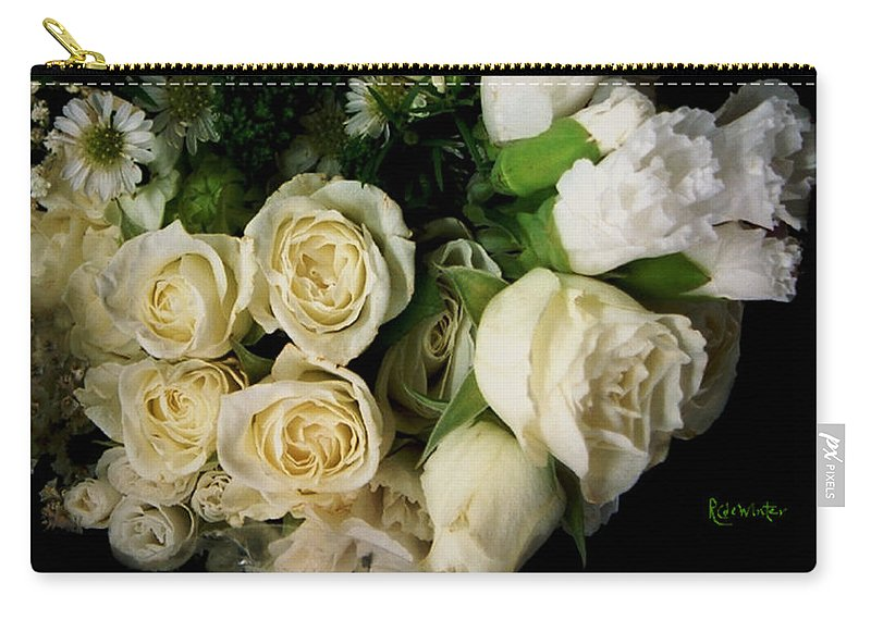 Roses Carry-all Pouch featuring the photograph Glamour by RC DeWinter