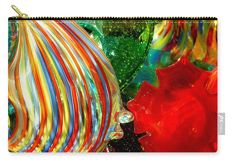 Glass Carry-all Pouch featuring the photograph Glass Sea by Donna Blackhall