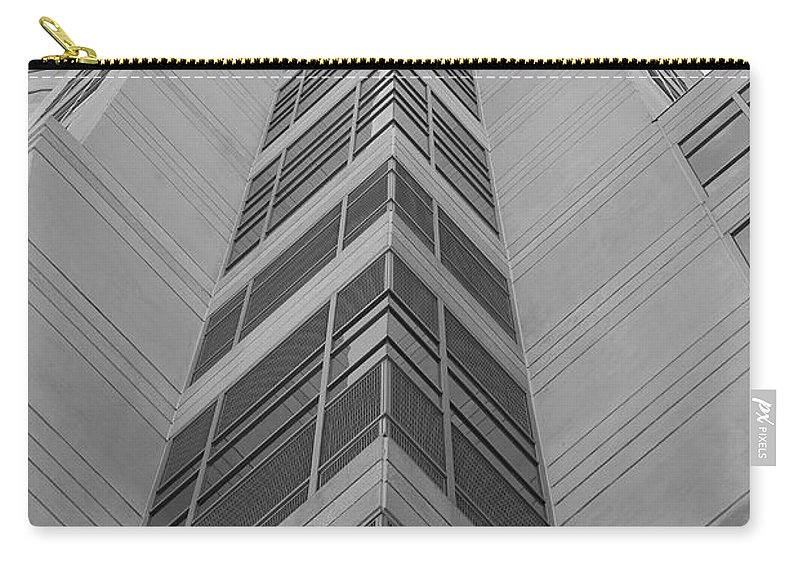 Architecture Carry-all Pouch featuring the photograph Glass Tower by Rob Hans