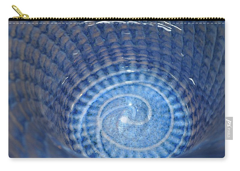 Abstract Carry-all Pouch featuring the photograph Glassworks 3 by Marty Koch