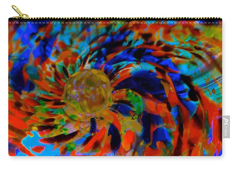 Abstract Carry-all Pouch featuring the photograph Globe Nebula by Tim G Ross