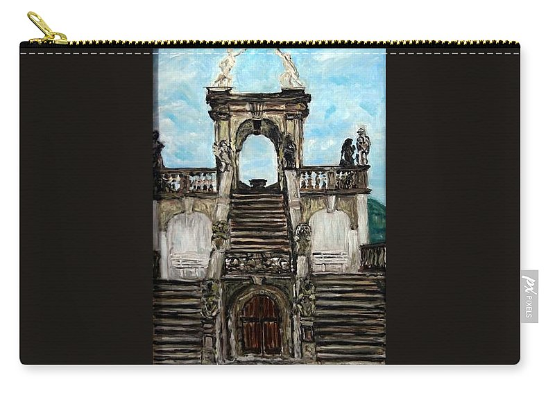 Landscape Carry-all Pouch featuring the painting Gloriet by Pablo de Choros