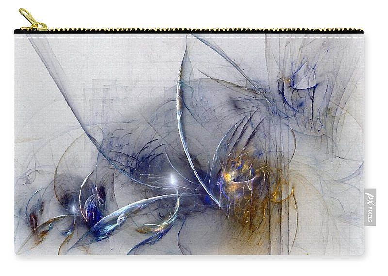 Glory Carry-all Pouch featuring the digital art Glorifying The Vision by NirvanaBlues