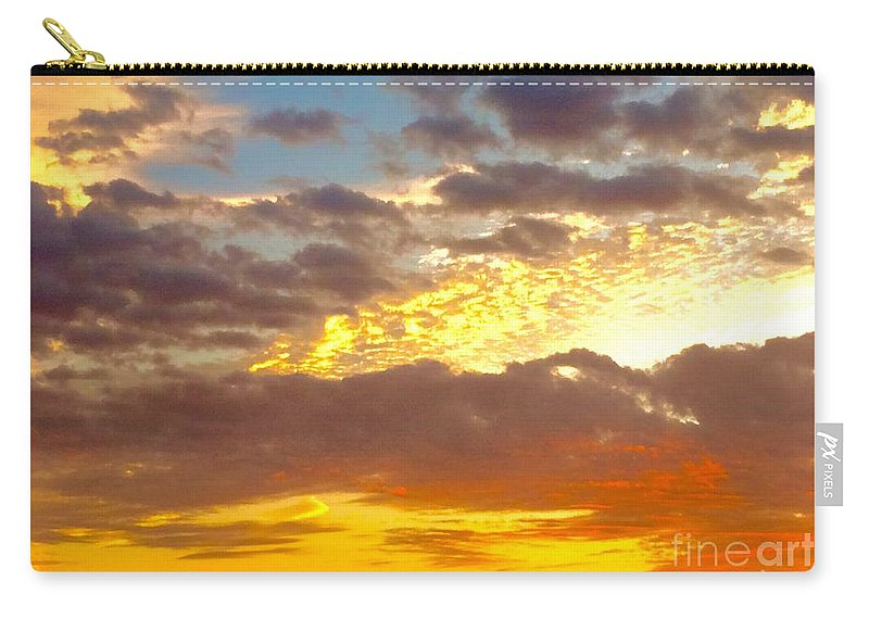 Sunrise Carry-all Pouch featuring the photograph Glorious Sunrise by Richard Russey