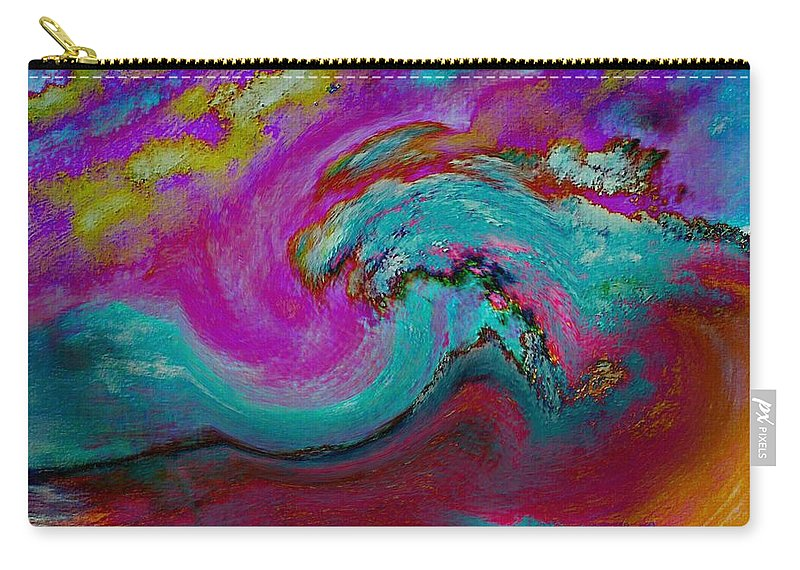 Mystery Carry-all Pouch featuring the digital art Glory by Annah Wakesho Mkoji