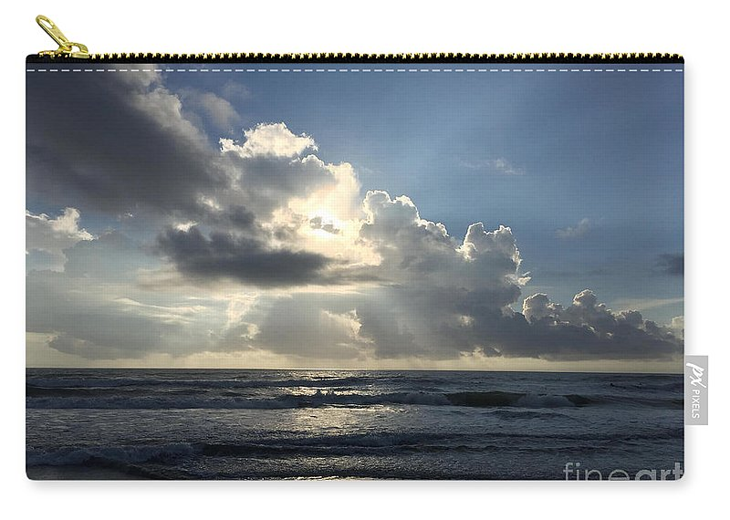 St. Augustine Carry-all Pouch featuring the photograph Glory Day by LeeAnn Kendall