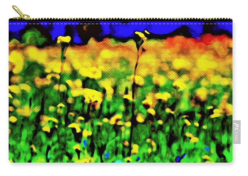 Photography Carry-all Pouch featuring the mixed media Glory Road by Debra Lynch