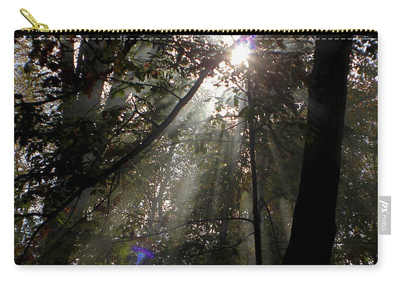 Carry-all Pouch featuring the photograph Glory Shine by Grace DeSchaepmeester