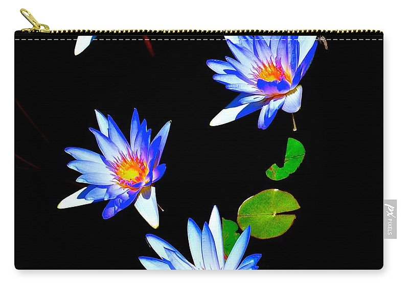 Blooms Carry-all Pouch featuring the photograph Glowing In The Sun by Tim G Ross
