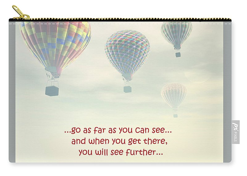 Carry-all Pouch featuring the photograph Go As Far As You Can See by Terrie Sizemore
