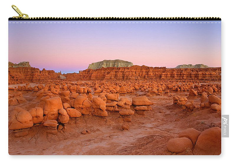 Goblin Carry-all Pouch featuring the photograph Goblin Glow by Mike Dawson