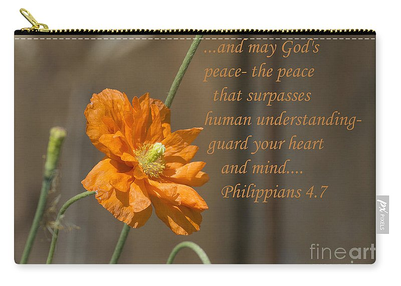 Carry-all Pouch featuring the photograph God's Peace by Terrie Sizemore