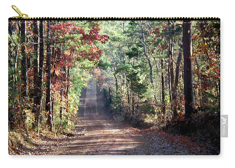 Country Carry-all Pouch featuring the photograph Going Home by Betty Northcutt