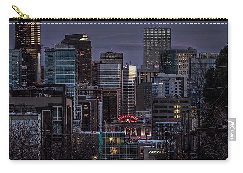 Night Carry-all Pouch featuring the photograph Going Home by Kristal Kraft