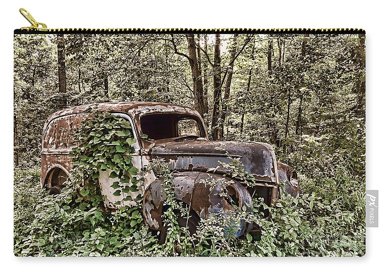 Abandoned Carry-all Pouch featuring the photograph Going Nowhere by Olivier Le Queinec