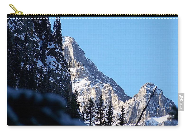Narrow Carry-all Pouch featuring the photograph Going Up by Greg Hammond