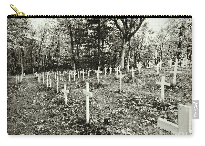 Cemetery Carry-all Pouch featuring the photograph Going Up To The Spirit In The Sky by Scott Ward