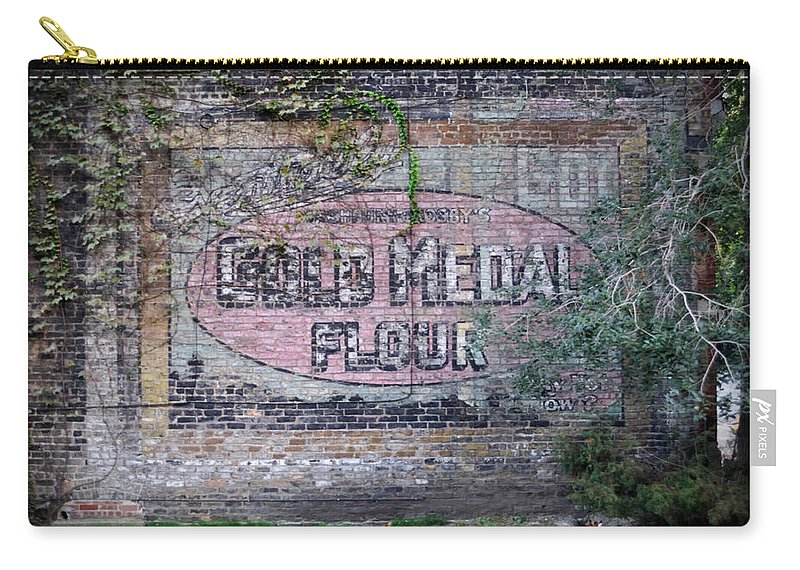 Gold Medal Flour Carry-all Pouch featuring the photograph Gold Medal Flour by Tim Nyberg