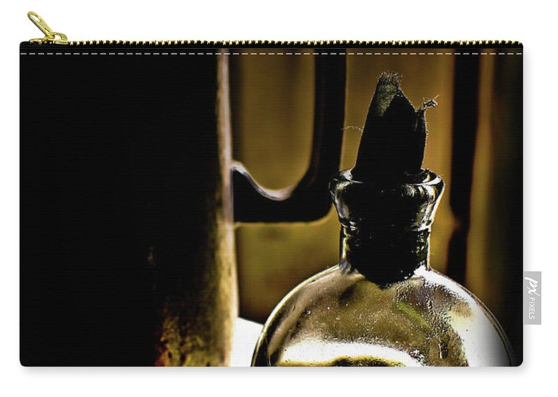 1800's Photographs Carry-all Pouch featuring the photograph Gold Spirits by Kim Henderson