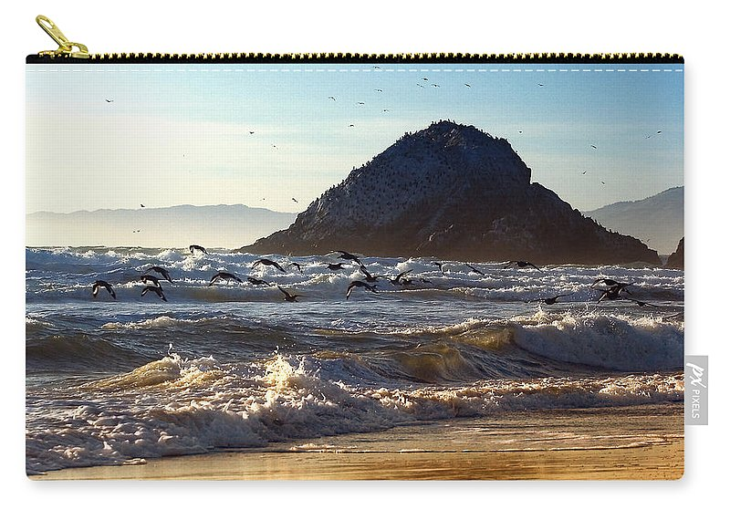 Nature Carry-all Pouch featuring the photograph Golden Day by John K Sampson