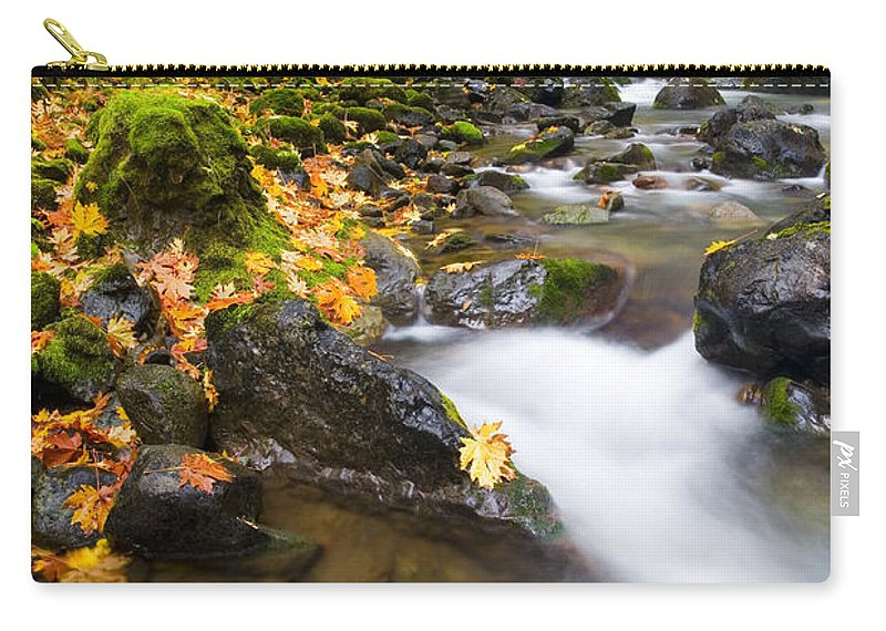 Fall Carry-all Pouch featuring the photograph Golden Grove by Mike Dawson