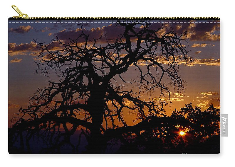 Sunset Carry-all Pouch featuring the photograph Golden Hour by Peter Piatt