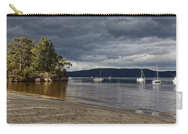 Australia Carry-all Pouch featuring the photograph Golden Hour by Renee Miller