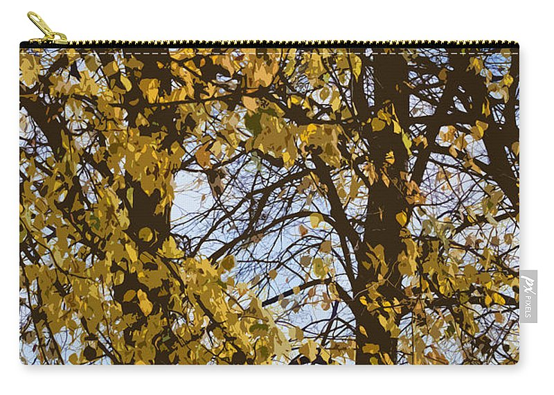 Autumn Carry-all Pouch featuring the photograph Golden Tree 2 by Carol Lynch