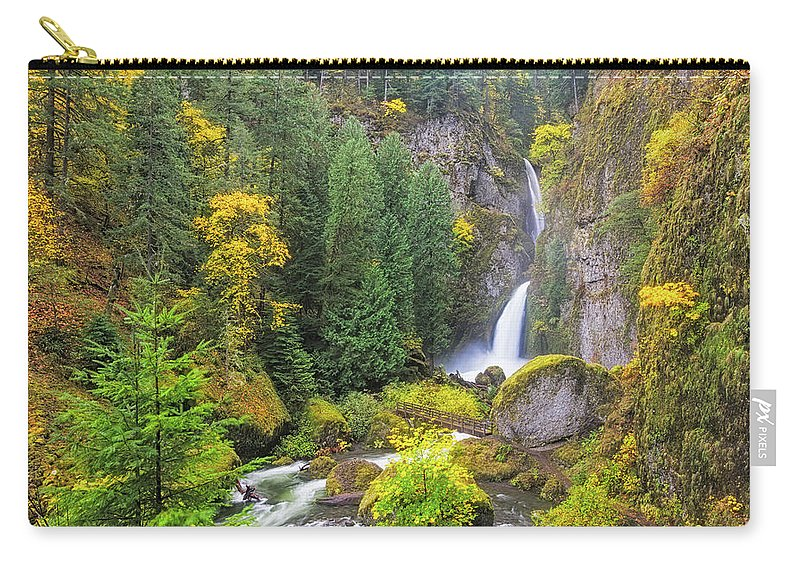 Bonneville Carry-all Pouch featuring the photograph Golden Valley by Patricia Davidson