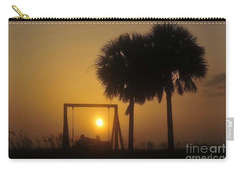 Golden Years Carry-all Pouch featuring the photograph Golden Years by David Lee Thompson