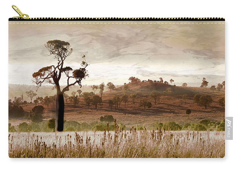 Landscapes Carry-all Pouch featuring the photograph Gondwana Boab by Holly Kempe