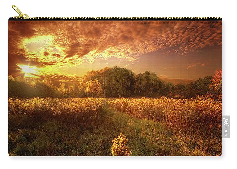 Landscape Carry-all Pouch featuring the photograph Gone Far Away Into The Silent Land by Phil Koch