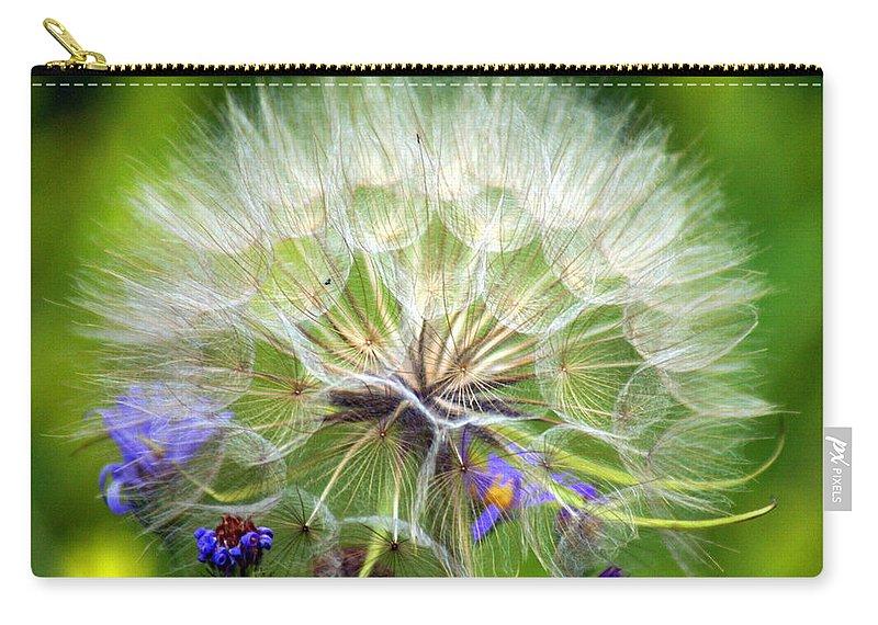Carry-all Pouch featuring the photograph Gone To Seed by Marty Koch