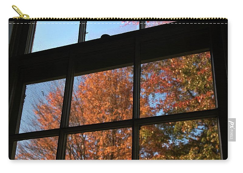 autumn Colors Carry-all Pouch featuring the photograph Good Morning Autumn by Paul Mangold
