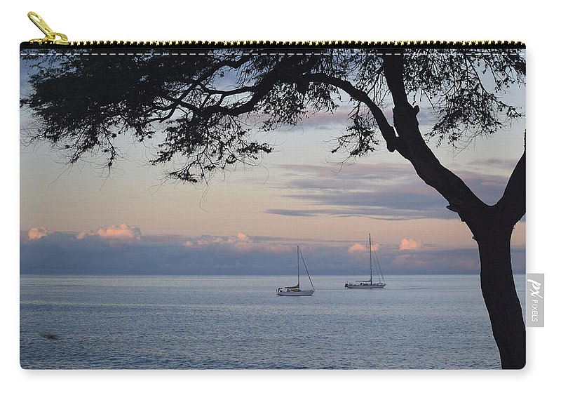 Boats Carry-all Pouch featuring the photograph Good Morning Boats by Samantha Peel